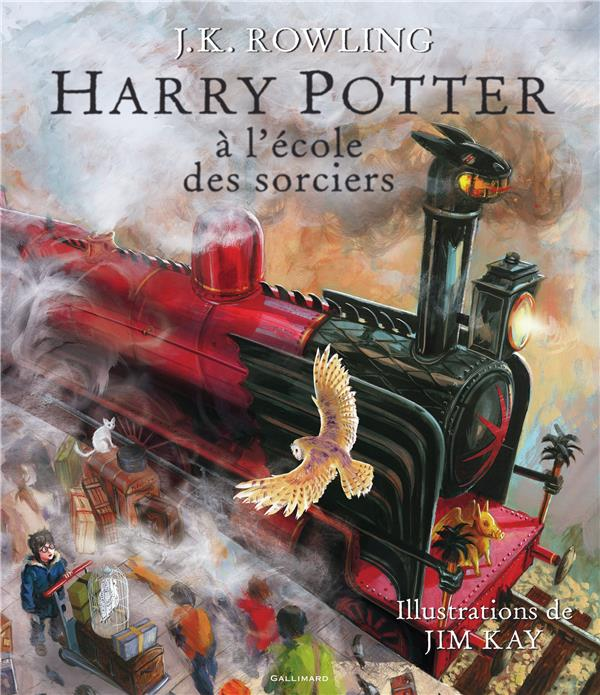 Rowling Joanne Kathleen - HARRY POTTER A L'ECOLE DES SORCIERS - VERSION ILLUSTREE